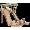 GIANVITO ROSSI metallic sandals - Sandały - $1,300.00  ~ 1,116.55€