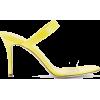 GIUSEPPE ZANOTTI Ali patent-leather and - Chinelas -