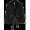 GIVENCHY flared sleeve tie waist jacket - Trajes -
