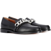 GIVENCHY Chain leather slippers - Loafers -