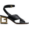 GIVENCHY GG heel sandals - Sandalias -