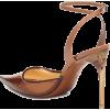 GIVENCHY Leather-trimmed PVC pumps - Scarpe classiche -