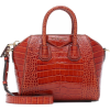 GIVENCHY,Mini croc-effect leather tote - Torbice -