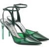 GIVENCHY PVC and leather pumps - Klassische Schuhe -