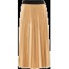 GIVENCHY Pleated lamé midi skirt - Skirts -