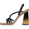 GIVENCHY  SANDALS IN WOOD HEELS - Sandals -