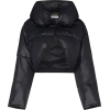 GIVENCHY black cropped puffer coat - Giacce e capotti -