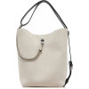 GIVENCHY metallic suede bucket bag - Hand bag -