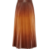 GIVENCHY pleated leather skirt - Skirts -