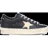 GOLDEN GOOSE DELUXE BRAND Hi Star leathe - Sneakers -