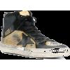 GOLDEN GOOSE Superstar hi-top sneakers - Sneakers - $550.00