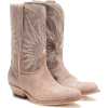 GOLDEN GOOSE Wish Star leather cowboy bo - Stiefel -
