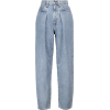 GOLDSIGN The Pleat Curve tapered jeans - Jeans -