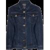 GOLDSIGN fitted-waist denim jacket - Jacket - coats -