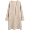 GOODNIGHT MACAROON neutral cardigan - Cardigan -