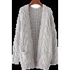 GOODNIGHT MACAROON pocket cardigan - Swetry na guziki -