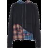 GREG LAUREN plaid hoodie - Jerseys -
