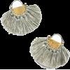 GREY SOLAR ECLIPSE EARRINGS - Earrings -
