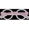 GROOVE pink frame eyeglasses - Dioptrijske naočale -