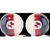 GUCCI Enameled gold-tone earrings - Ohrringe -