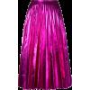 GUCCI pleated metallic skirt - Spudnice -