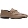 GUCCI 'Brixton' loafers with horsebit bu - Шлепанцы -
