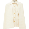 GUCCI Chain-embellished cotton-blend twe - Chaquetas -