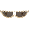 GUCCI  Crystal-embellished cat-eye sungl - 墨镜 -