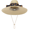 GUCCI Drawstring straw-effect hat - Šeširi -