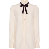 GUCCI Embellished silk blouse - Long sleeves shirts -