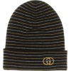 GUCCI Embroidered wool-blend beanie - Hüte -