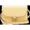 GUCCI  GG-ring leather shoulder bag - Hand bag -