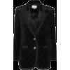 GUCCI GG velvet jacket - Vests -
