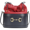GUCCI Gucci 1955 Horsebit leather bucket - Poštarske torbe -