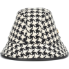 GUCCI Houndstooth wool-blend bucket hat - Chapéus -