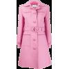 GUCCI Interlocking G belted coat - Jakne in plašči -