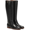 GUCCI Leather knee-high boots - Boots -
