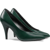 GUCCI Leather pump dark green - Klassische Schuhe -