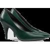 GUCCI Leather pump dark green - Classic shoes & Pumps -