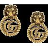 GUCCI Lion Head earrings - Earrings -
