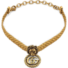GUCCI Lion head choker with - Necklaces -
