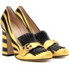 GUCCI Metallic leather loafer pumps - Classic shoes & Pumps - $990.00  ~ £752.41