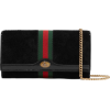 GUCCI Ophidia micro patent leather-trimm - Bolsas pequenas -