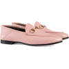 GUCCI Pink Brixton Leather loafers - Mocassini - $730.00  ~ 626.99€