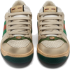 GUCCI Screener leather low-top trainers - Turnschuhe -