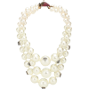 GUCCI Strawberry faux pearl necklace - Necklaces -
