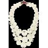 GUCCI Strawberry faux pearl necklace - Halsketten -