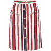 GUCCI Striped denim skirt - Spudnice -