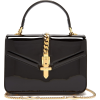 GUCCI Sylvie 1969 mini patent-leather sh - Schnalltaschen -