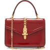 GUCCI  Sylvie small patent-leather shoul - Carteras -